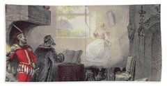 Scene From Faust By Gounod Bath Towel