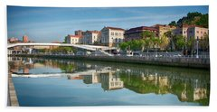 Scenic River View Bath Towel by James Hammond