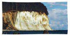 Scenic Rugen Island Hand Towel by Anthony Dezenzio
