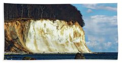 Scenic Rugen Island Bath Towel by Anthony Dezenzio