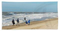 Scheveningen Beach Netherlands Bath Towel