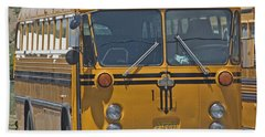 School Bus Hand Towel