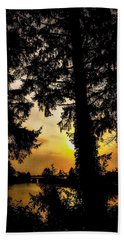 Schooner Creek, Oregon Bath Towel