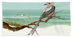 Scissor Tailed Flycatcher Bath Towel