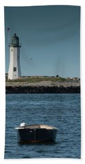 Scituate Lighthouse Bath Towel