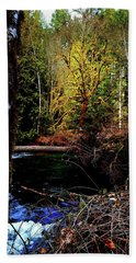 Scoggins Creek 3 Hand Towel by Jerry Sodorff