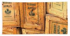 Scott Farm Apple Boxes Hand Towel