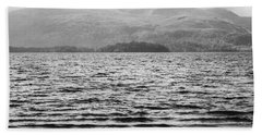 Hand Towel featuring the photograph Scottish Shores by Christi Kraft