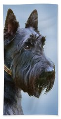 Scottish Terrier Dog Bath Towel
