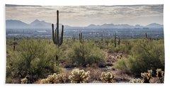 Scottsdale Arizona Bath Towel