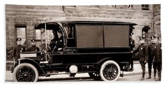 Scranton Pennsylvania  Bureau Of Police  Paddy Wagon  Early 1900s Bath Towel