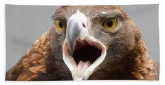 Screaming Eagle Bath Towel