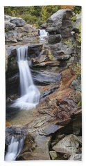 Screw Auger Falls - Maine  Hand Towel