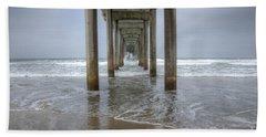 Scripps Pier La Jolla California 4 Hand Towel