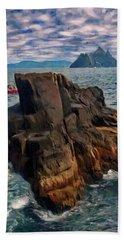 Sea And Stone Bath Towel by Jeff Kolker