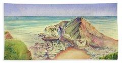 Sea Cliff Hand Towel