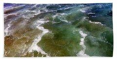 Artistic Ocean Photo Hand Towel