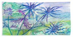 Sea Holly Hand Towel
