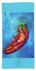 Sea Invertebrate Hand Towel
