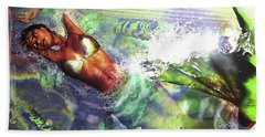 Sea Lioness Hand Towel