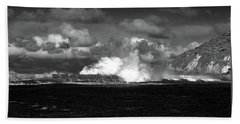 Hand Towel featuring the photograph Sea Meets Sky by Nareeta Martin
