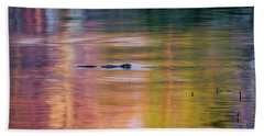 Bath Towel featuring the photograph Sea Of Color by Bill Wakeley