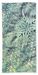 Sea Of Flakes Hand Towel by AugenWerk Susann Serfezi