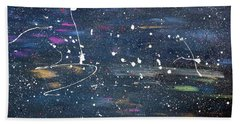 Hand Towel featuring the painting Sea Of Love by Michael Lucarelli