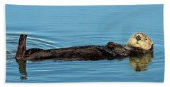 Sea Otter Bath Towel