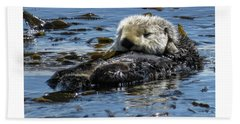 Sea Otter Hand Towel