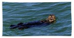 Sea Otter Bath Towel
