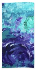 Sea Purple Hand Towel