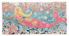 Sea Siren Blondie Hand Towel