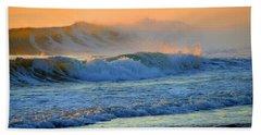 Sea Smoke Sunrise Bath Towel by Dianne Cowen