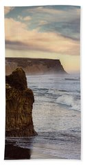 Bath Towel featuring the photograph Sea Stack II by Allen Biedrzycki