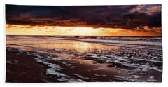 Sea Sunset Bath Towel