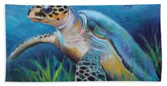 Sea Turtle Cove Bath Towel