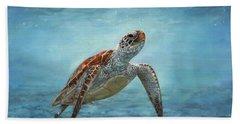 Sea Turtle Hand Towel