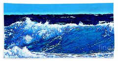 Bath Towel featuring the digital art Sea by Zedi