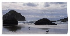 Seagull Reflections Hand Towel
