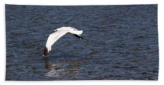 Seagull Bath Towel by Yumi Johnson