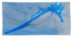 Seahorse In The Sky Kite 2 Hand Towel