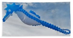 Seahorse In The Sky Kite Hand Towel