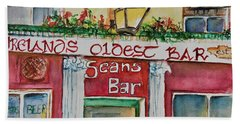 Seans Irish Pub Bath Towel
