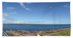 Seascape At Lossiemouth Bath Towel