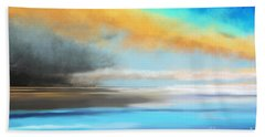 Seascape Painting Bath Towel