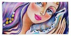 Seashell Reverie Hand Towel