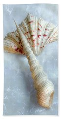 Seashells #2  Hand Towel by Louise Kumpf