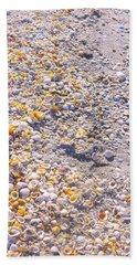 Seashells In Sanibel Island, Florida Hand Towel