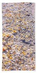 Seashells In Sanibel Island, Florida Bath Towel